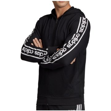 adidas TrainingsjackenCelebrate the 90s Branded FZ Hoodie schwarz