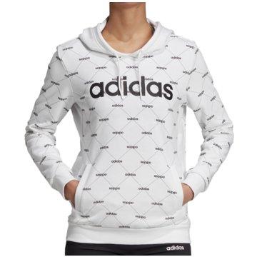 adidas HoodiesLinear Graphic Core Fav Hoody Women weiß