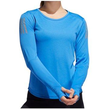 adidas LangarmshirtOwn The Run LS Women blau