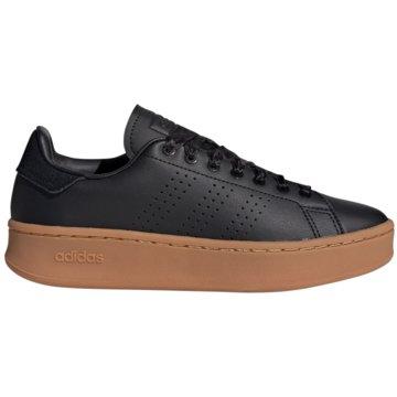 adidas Plateau SneakerAdvantage Bold Women schwarz