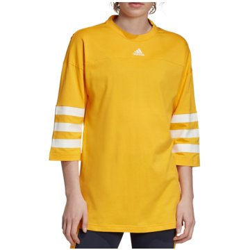 adidas LangarmshirtsSport ID Tee Women gelb