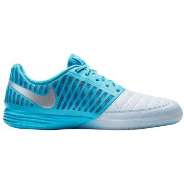 Nike Hallen-SohleLunargato II blau