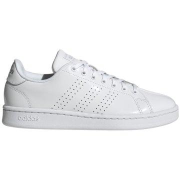 adidas Sneaker LowCloudfoam Advantage Premium Women weiß