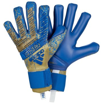 adidas TorwarthandschuhePredator Pro blau