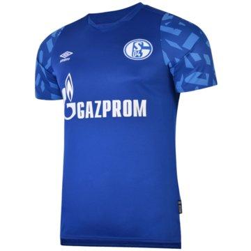 Umbro FußballtrikotsFC Schalke 04 Home Jersey 2019/2020 blau