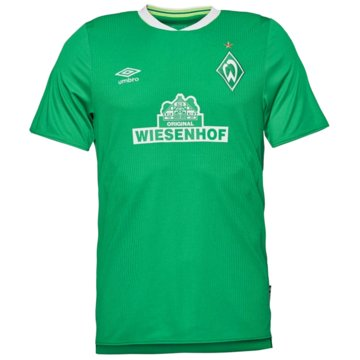 Umbro FußballtrikotsWerder Bremen Home SS Jersey 2019/2020 grün