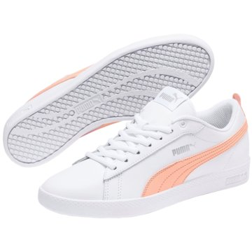 Puma Sneaker LowSmash v2 Leather Women weiß