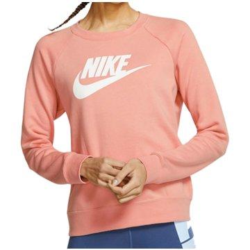 Nike SweatshirtsW NSW ESSNTL CREW FLC HBR - BV4112 rosa