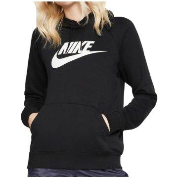 Nike HoodiesW NSW ESSNTL HOODIE PO  HBR - BV4126 schwarz