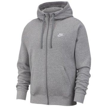 Nike SweatjackenSportswear Club FZ Hoodie grau