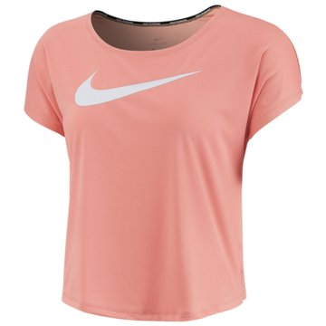 Nike T-ShirtsMiler V-Neck Top Women rosa