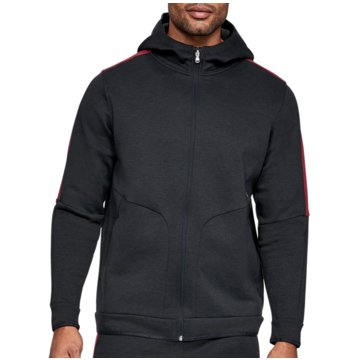Under Armour SweatshirtsAthlete Recovery Fleece FZ Hoodie schwarz