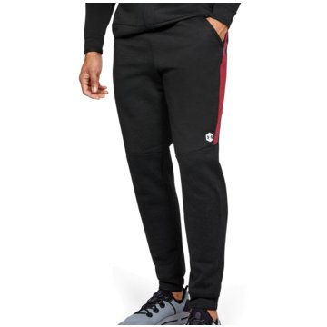Under Armour TrainingshosenAthlete Recovery Fleece Pant schwarz