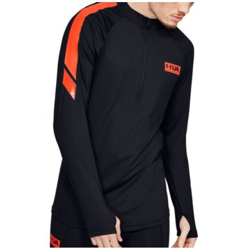 Under Armour FunktionsshirtsGametime ColdGear 1/2 Zip schwarz
