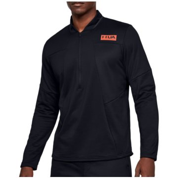 Under Armour SweatshirtsColdGear Gametime Fleece 1/2 Zip Top schwarz