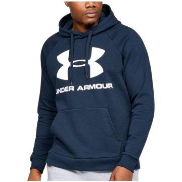 Under Armour SweatshirtsColdGear Rival Fleece Logo Hoodie blau