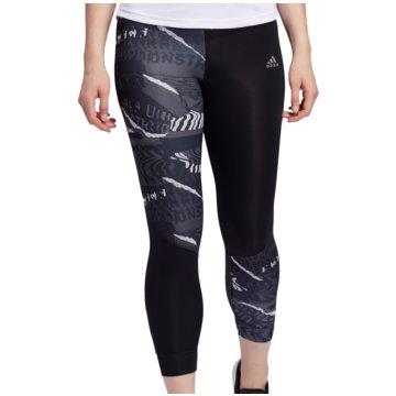 adidas TightsOwn The Run City Clash 7/8 Tight Women schwarz