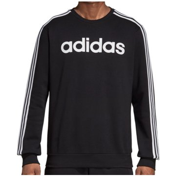 adidas SweatshirtsE 3S CREW FL - DQ3084 schwarz
