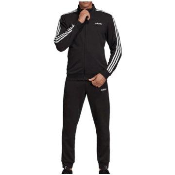 adidas TrainingsanzügeCotton Relax Tracksuit schwarz