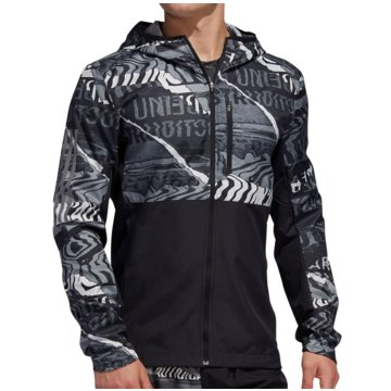 adidas LaufjackenOwn The Run Graphic Jacket grau