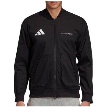 adidas TrainingsjackenThe Pack Twill Bomber schwarz