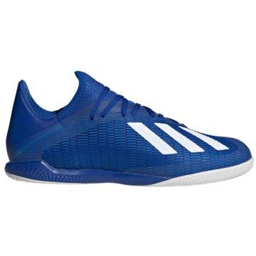 adidas Hallen-SohleX 19.3 IN blau