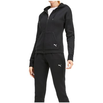 Puma JogginganzügeClassic Hooded Sweat Suit CL Women schwarz