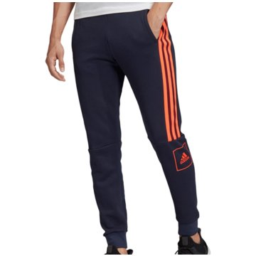 adidas Trainingshosen3 Stripes Slim Pant blau