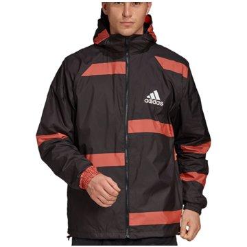 adidas TrainingsjackenM ADIDAS W.N.D. - FL3612 schwarz