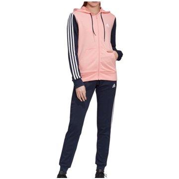 adidas TrainingsanzügeCotton Energize Tracksuit Women rosa
