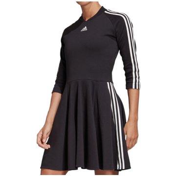adidas Kleider3-STREIFEN KLEID - FL6901 schwarz