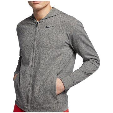 Nike SweatjackenNike Dri-FIT Men's Full-Zip Yoga Training Hoodie - BQ2864-032 grau