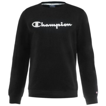 Champion SweatshirtsCrew Neck Logo Fleece Sweatshirt schwarz
