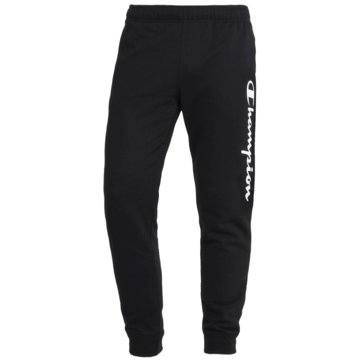 Champion JogginghosenRib Cuff Fleece Logo Pants schwarz