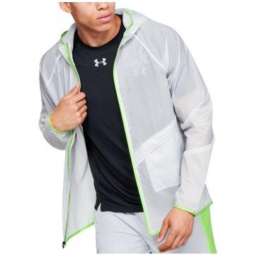 Under Armour LaufjackenQualifier Storm Run Packable Jacket grau