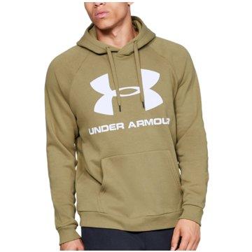 Under Armour SweatshirtsColdGear Rival Fleece Logo Hoodie grün