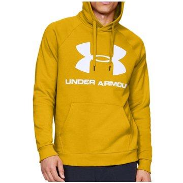 Under Armour SweatshirtsColdGear Rival Fleece Logo Hoodie gelb