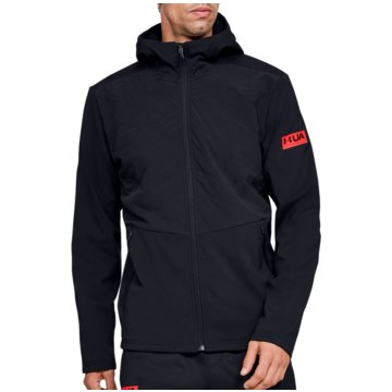 Under Armour TrainingsjackenColdGear Reactor Gametime Hybrid Jacket schwarz