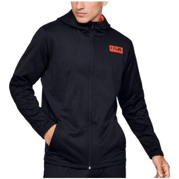 Under Armour SweatshirtsColdGear Gametime Fleece FZ Hoodie schwarz