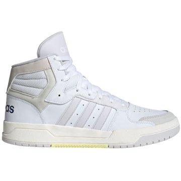 adidas HallenschuheEntrap Mid weiß
