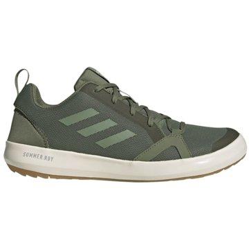 adidas Outdoor SchuhTerrex Boat S.RDY grün