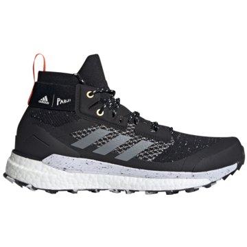 adidas WanderhalbschuheTerrex Free Hiker Parley Boost schwarz
