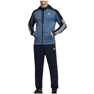 adidas TrainingsanzügeMTS GAME TIME - EB7652 blau