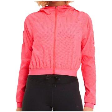 Puma FleecejackenBe Bold Woven Training Jacket Women pink