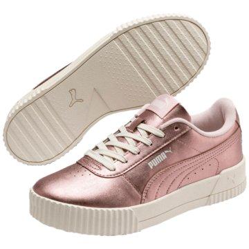 Puma Sneaker LowCarina Metallic Women rosa