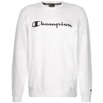 Champion SweatshirtsCrewneck Logo Sweatshirt weiß