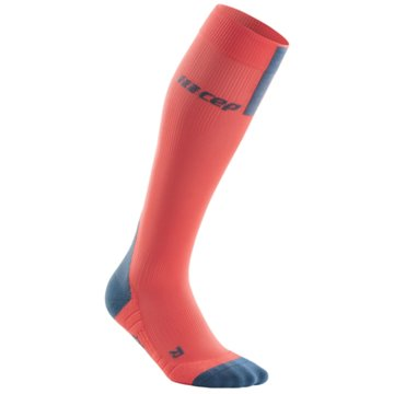 CEP Kniestrümpfe RUN SOCKS 3.0, BLUE/GREY, WOMEN - WP40X orange