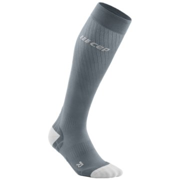 CEP Kniestrümpfe RUN ULTRALIGHT SOCKS, BLACK/LI - WP40Y grau