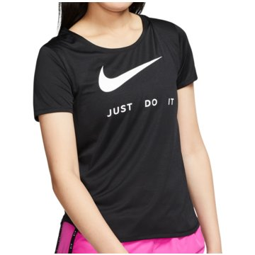 Nike FunktionsshirtsSwoosh Run SS Top Women schwarz