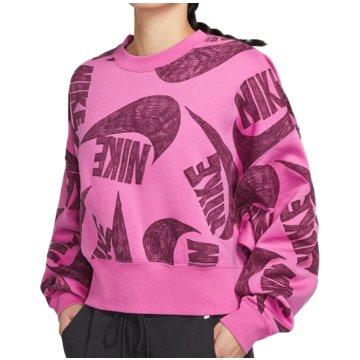 Nike SweatshirtsSportswear Icon Clash AOP Fleece Crew Women pink